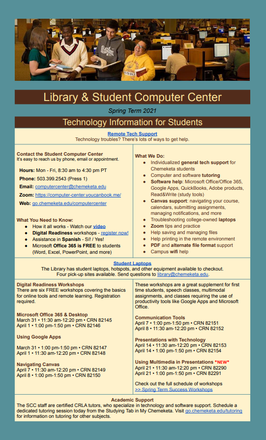 Library and Student Computer Center