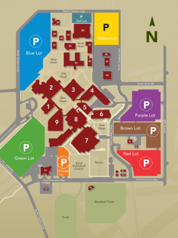 Parking Permits Required for Fall Term, beginning Sept. 27