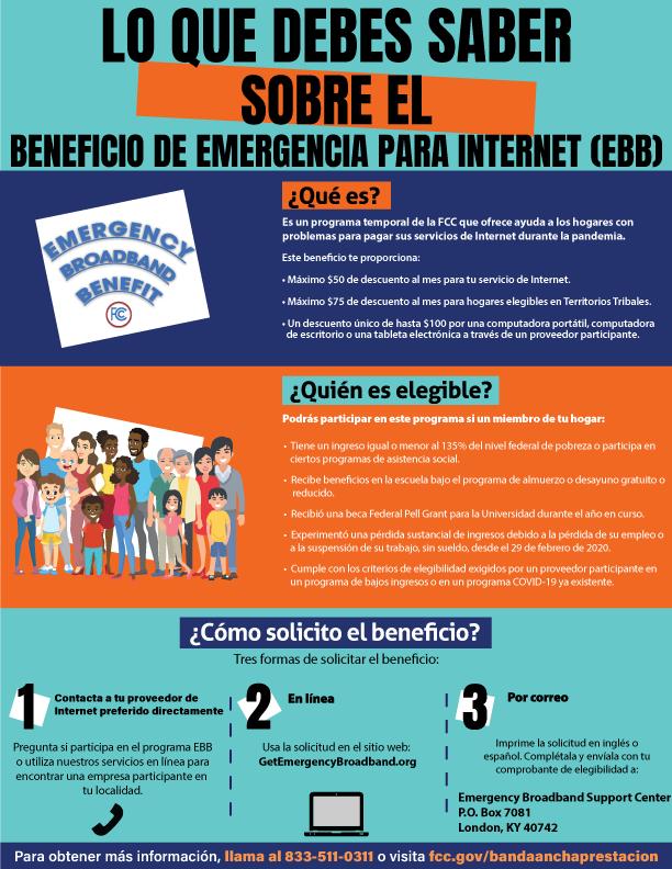 El EBB (Beneficio de Emergencia para Internet)