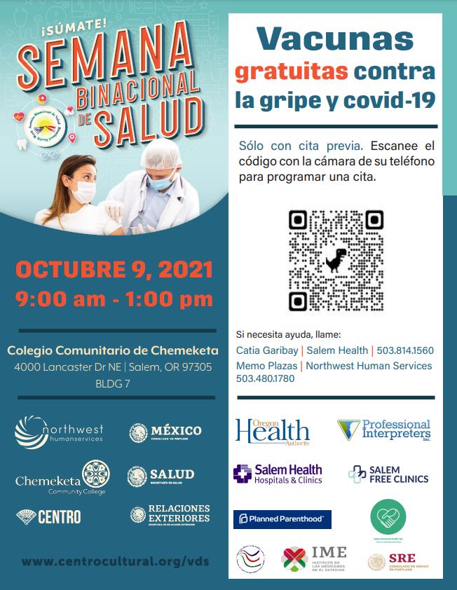 Semana Binacional de Salud Vacunas Gratuitas
